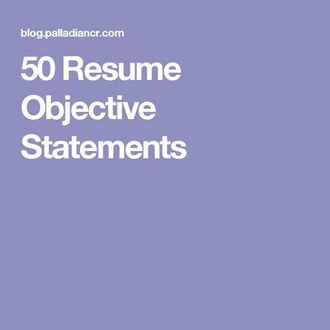 Samples of Resume Objectives - North Carolina Central